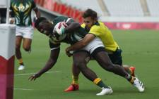 The Blitzboks beat Australia on 28 July 2021 on their way to a fifth-place finish at the Olympic Games. Picture: @Blitzboks/Twitter