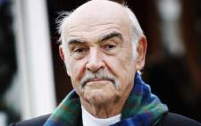 Scottish actor Sean Connery. Picture: AFP.
