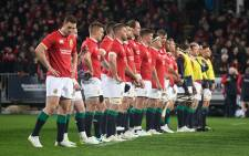 The British and Irish Lions watch the Crusaders perform a Haka ahead of their match against the Crusaders at the AMI Stadium in Christchurch on June 10, 2017. Picture: AFP