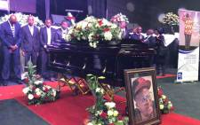HHP's funeral in Mahikeng. Picture: EWN.