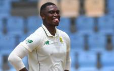 Proteas fast bowler Lungi Ngidi. Picture: @OfficialCSA/Twitter