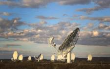 The Square Kilometre Array is a large multi-radio telescope hosted by Australia and South Africa. On Friday 64 operational radio telescopes will be launched at the SKA site outside Carnarvon. Picture: Bertram Malgas/EWN