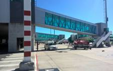 Boarding gates at an airport. Picture: Zunaid Ismael/EWN