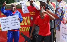 Cosatu marched on Cape Chamber of Commerce