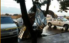 FILE: The aftermath of a tornado in Tembisa. Picture: ER24