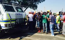 FILE: Miners have been told to remain resolute with their strike action. Govan Whittles/EWN.