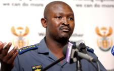 """General Elias Mawela briefing media about all security-related operations for the Orange Africa Cup of Nation 2013. Picture: GCIS"