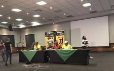 FILE: MKMVA held a briefing in Ekurhuleni following their national executive committee meeting. Picture: Clement Manyathela/EWN