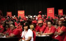 The EFF held its second national people's assembly at Nasrec in Soweto in December. Picture: Sethembiso Zulu/EWN