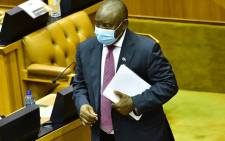 FILE: President Cyril Ramaphosa in Parliament. Picture: GCIS.