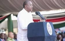 President Uhuru Kenyatta. Picture: @UKenyatta/Twitter.