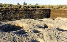 A YouTube screengrab shows one of the oldest villages ever found in the Nile Delta.