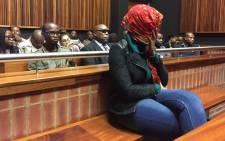 FILE. Convicted killer Sindisiwe Manqele. Picture: Vumani Mkhize/EWN.