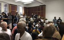 FILE: District Six land claimants pictured inside the Western Cape High Court on 26 November 2018. Picture: Monique Mortlock/EWN