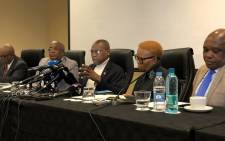 Dr Zweli Mkhize addressed an inter-ministerial committee briefing on the country's plan to evacuate citizens and quarantine them locally. Picture: Department of Health.