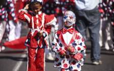 FILE: A member of the JBE troupe during the Tweede Nuwe Jaar parade in Cape Town on 2 January 2018. Picture: Cindy Archillies/EWN