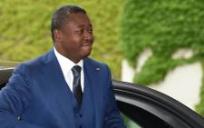 The President of Togo Faure Gnassingbe arrives for a meeting with the German Chancellor at the Chancellery in Berlin, Germany on 9 June 2016. Picture: AFP