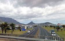 Table Bay Boulevard in Cape Town as seen from the R27 bridge. Picture: Google Earth.