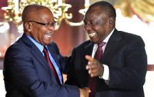 FILE: President Cyril Ramaphosa paid tribute to former President Jacob Zuma for his contribution to South Africa's development at a farewell cocktail function at Tuynhuys on 20 February 2018. Picture: GCIS