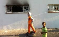 FILE. Unoccupied units were robbed of geysers and copper plumbing materials at a housing project in Elsies River. Picture: Mia Spies
