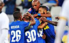 FILE: Cape Town City FC players celebrate at the Cape Town Stadium on 16 January 2019. Picture: @CapeTownCityFC/Twitter