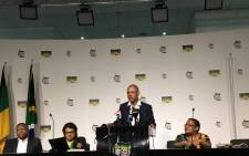 ANC press conference on 16 April 2017. Picture: Kayleen Morgan/EWN