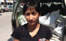 Rahima Essop is in Syria alongside the Gift of the Givers Foundation, who have gone to assist victims of the civil war.