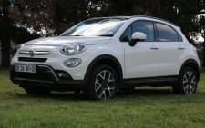The All-New FIAT 500X boldly enters the crossover market with innovation, functionality and Italian style. Picture: Kgothatso Mogale/EWN