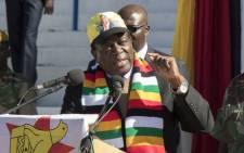 Zimbabwe's interim president Emmerson Mnangagwa. Picture: AFP