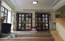 FILE: The UCT library closed due to student protests. Picture: Natalie Malgas/EWN.