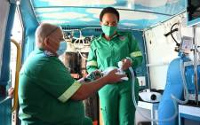 On 3 June 2021, Limpopo Health MEC Dr Phophi Ramathuba officially handed over more than 20 Emergency Medical Services vehicles of which five of them are specifically meant for COVID-19 response, fitted with high flow oxygen. Picture: @HealthLimpopo/Twitter.