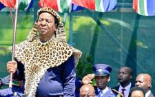 FILE: Zulu King Goodwill Zwelithini opens the KwaZulu-Natal Legislature in Pietermaritzburg on 3 March 2020. Picture: @kzngov/Twitter