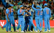 India snatched victory from the jaws of defeat to keep alive their hopes of reaching the World Twenty20 semi-finals with a dramatic one-run win over Bangladesh on 23 March 2016. Picture: Indian Cricket Team official Facebook page.