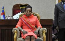 Central African Republic's interim president Catherine Samba-Panza. Picture: AFP.