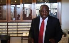 FILE: Deputy President Cyril Ramaphosa. Picture: Christa Eybers/EWN
