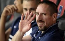 Franck Ribery. Picture: AFP.