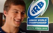 FILE: Handre Pollard was just two months ago captaining South Africa's under-20 team at the Junior World Championship. Picture: Aletta Gardner/EWN