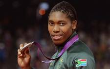 Olympic silver medallist in the women's 800 metres, Caster Semenya. Picture: Werner Beukes/SAPA