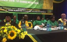 ANC Gauteng leadership at the ANCWL conference in Pretoria. Picture: ANC Gauteng.