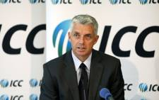 International Cricket Council CEO Dave Richardson. Picture: Facebook.com.