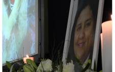 Family, friends and colleagues paid their respects to journalist Mandy Rossouw at a memorial service in Johannesburg.