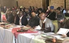 Basic Education Minister Angie Motshekga releases the Ministerial Task Team History Report on 31 May 2018. Picture: Thando Kubheka/EWN