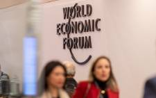 The World Economic Forum in Davos on in January 2019. Picture: World Economic Forum/Sandra Blaser