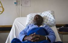 Robert Banda at Bertha Gxowa Hospital in Germiston. Picture: Thomas Holder/EWN