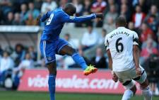 Demba Ba scored the only goal that saw Chelsea beat Swansea City in the English Premier League on 13 April 2014. Picture: Facebook.com.