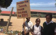 Atlantis parents locked the gates of the Avondale Primary School on 20 January 2016 and there's been no teaching since then. Picture: Siyabonga Sesant/EWN.