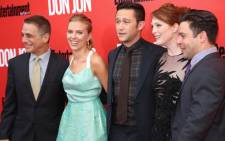 "Tony Danza, Scarlett Johansson, Joseph Gordon-Levitt and Julianne Moore attend the ""Don Jon"" New York premiere at SVA Theater on 12 September 2013 in New York City. Picture: AFP/Rob Kim/Getty Images"