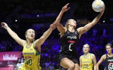 New Zealand's Silver Ferns beat Australia's Diamonds to win the 2019 Netball World Cup. Picture: Twitter/@NetballWorldCup