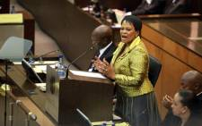 FILE: Gauteng Premier Nomvula Mokonyane speaks at the opening of Legislature, 20 February 2013. Picture: Sebabatso Mosamo/EWN.