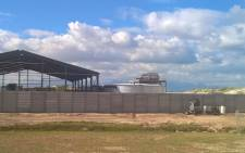 FILE: The desalination plant under construction at Strandfontein. Picture: Zunaid Ismael/EWN